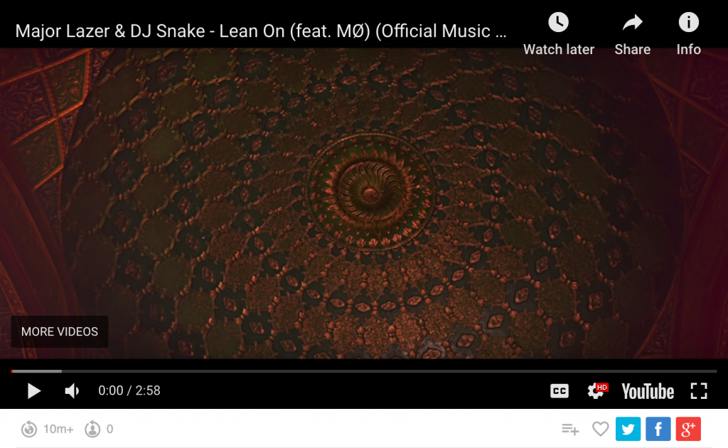 DJ snake Lean on