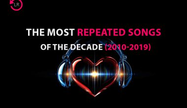 Most repeated songs of the decade