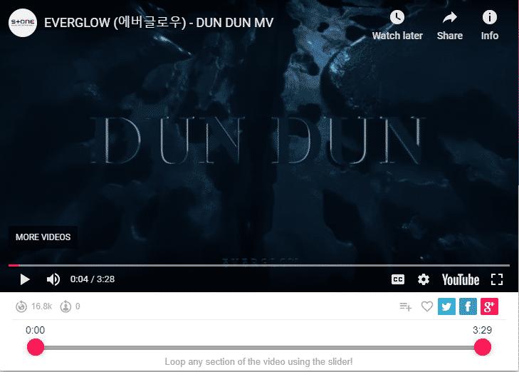 EVERGLOW (에버글로우) - DUN DUN MV