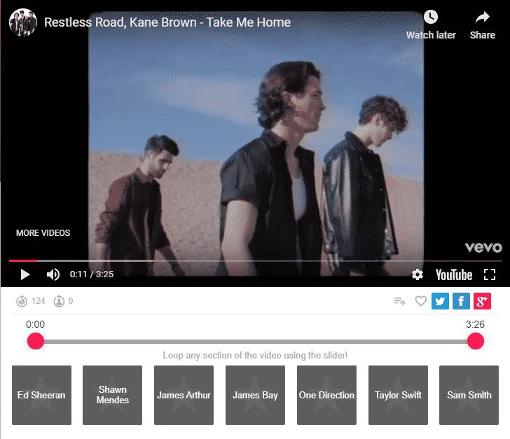 Restless Road, Kane Brown – Take Me Home