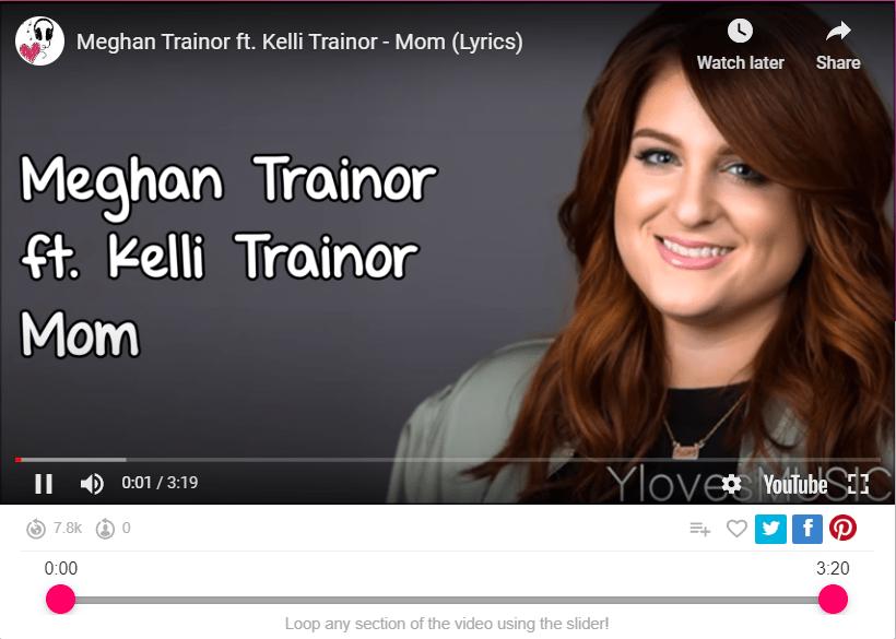 Meghan Trainor ft. Kelli Trainor - Mom