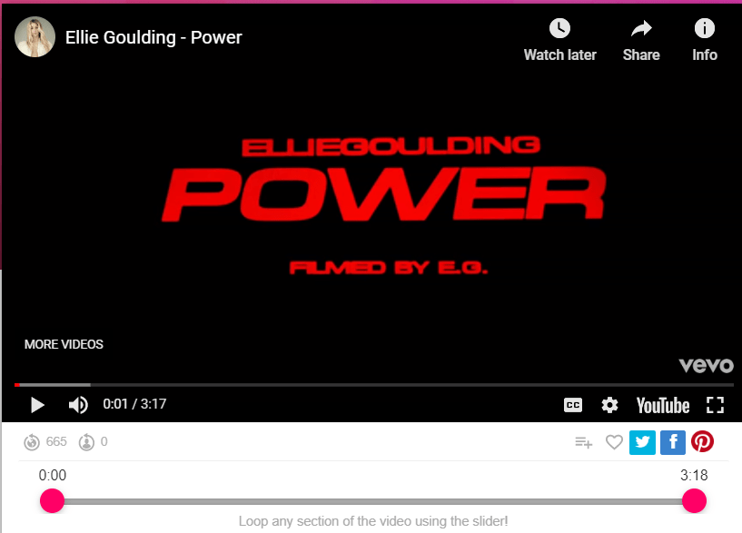 Ellie Goulding - Power