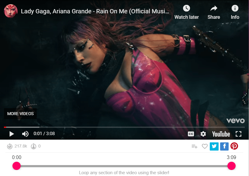 Lady Gaga, Ariana Grande - Rain On Me (Official Music Video)