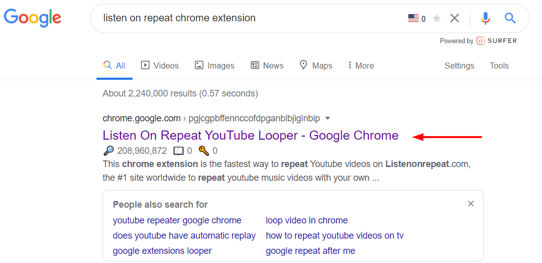 Listen On Repeat Chrome Extension To Loop Youtube Videos