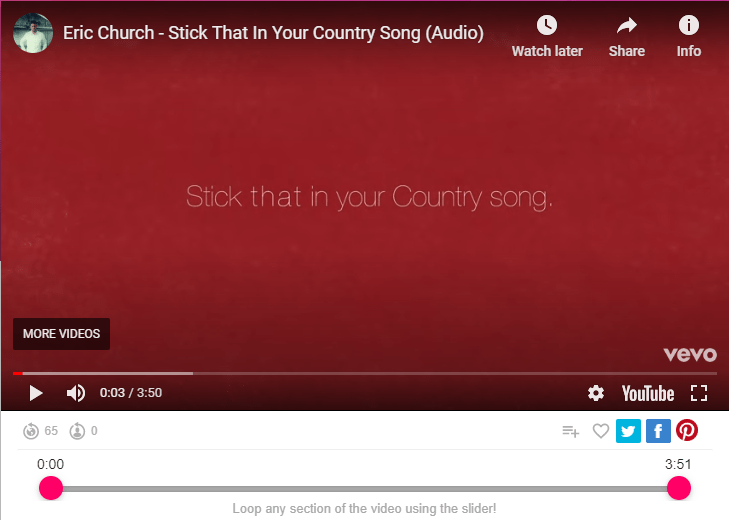 Eric Church - Stick That In Your Country Song (Audio)