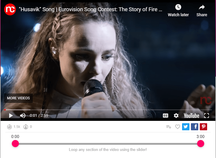 """""""Husavik"""" Song 
