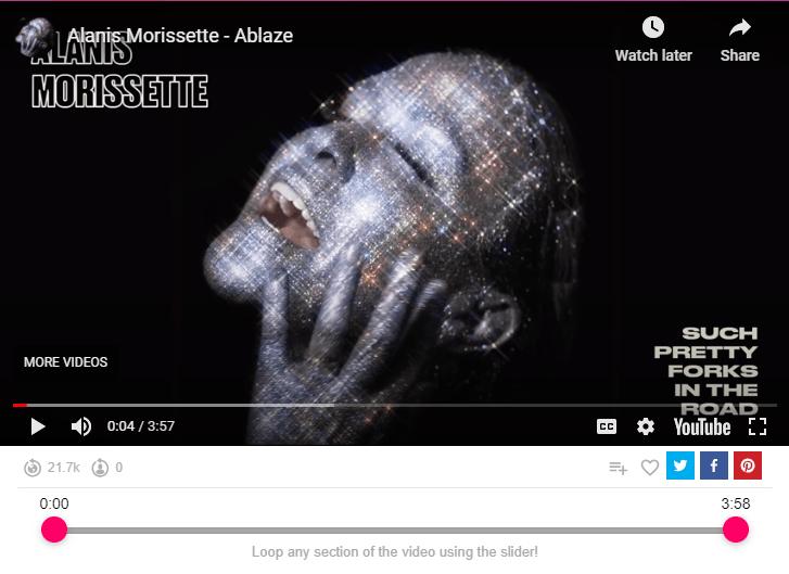 Alanis Morissette - Ablaze