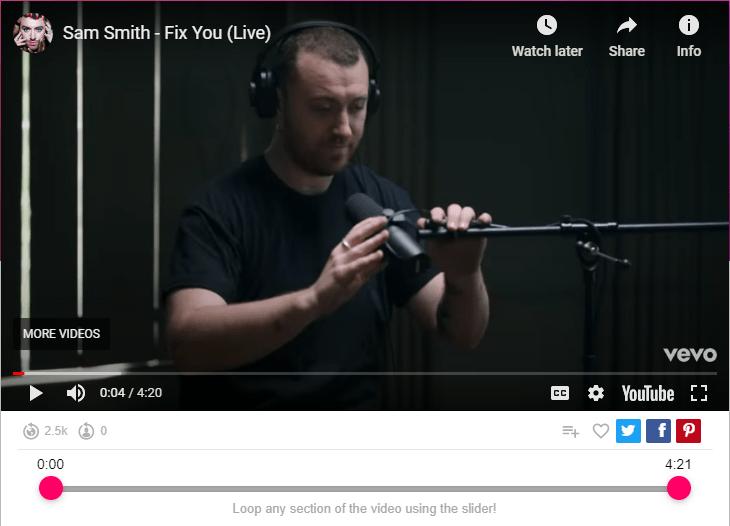 Sam Smith - Fix You