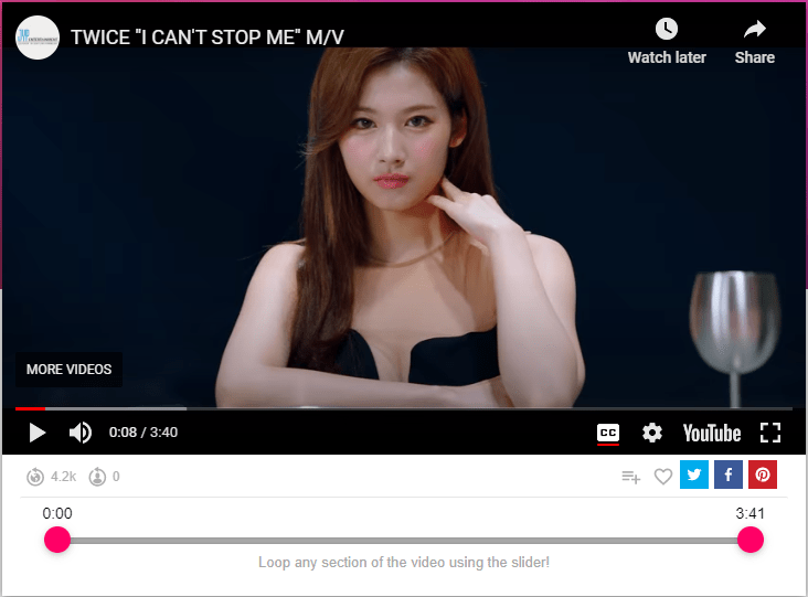 TWICE I CAN'T STOP ME