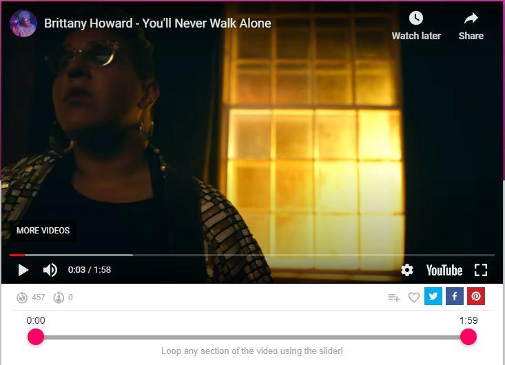 brittany howard - you will never walk alone