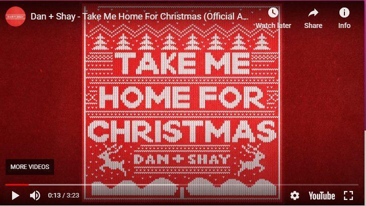 dan+shay - take me home for christmas