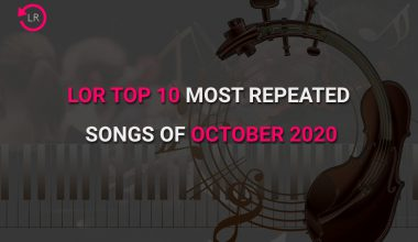 Most repeated songs of october 2020