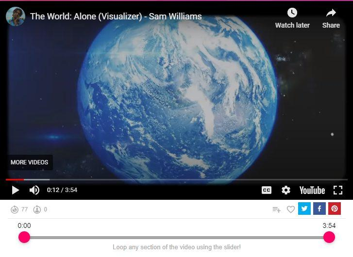 the world alone sam williams