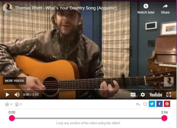 whats your country song