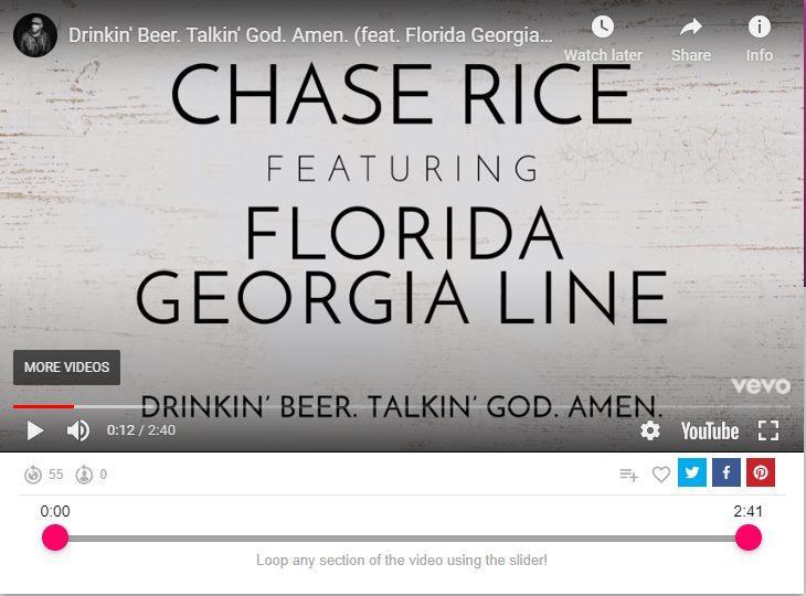 drinking beer taking god