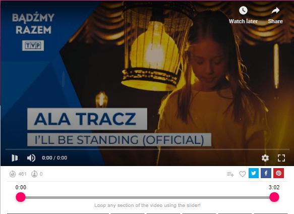 Ala Tracz – I'll Be Standing