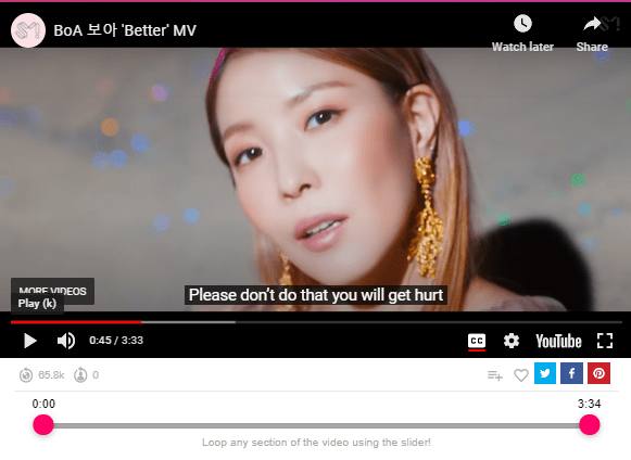 BoA 보아 Better MV