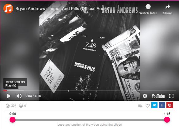 Bryan Andrews - Liquor And Pills