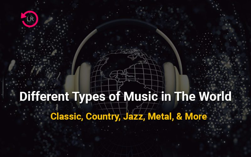 different types of music