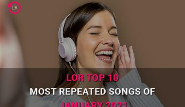 Most Repeated Songs of January 2021