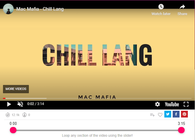 Mac Mafia - Chill Lang